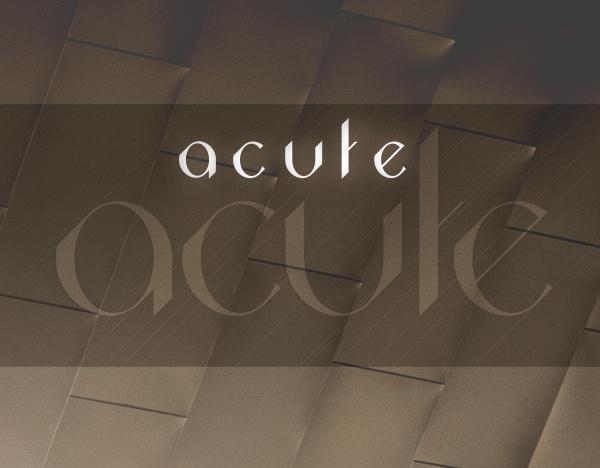 Acute Free Font