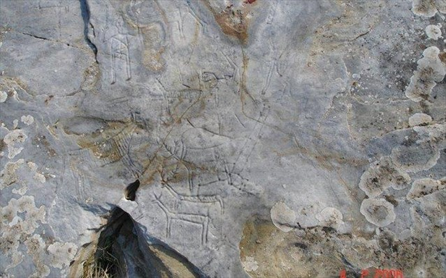 Άγνωστοι βανδάλισαν αρχαίες βραχογραφίες στο Παγγαίο...!