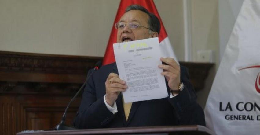Edgar Alarcón mueve sus últimas fichas y ataca a Pedro Pablo Kuczynski y cinco ministros