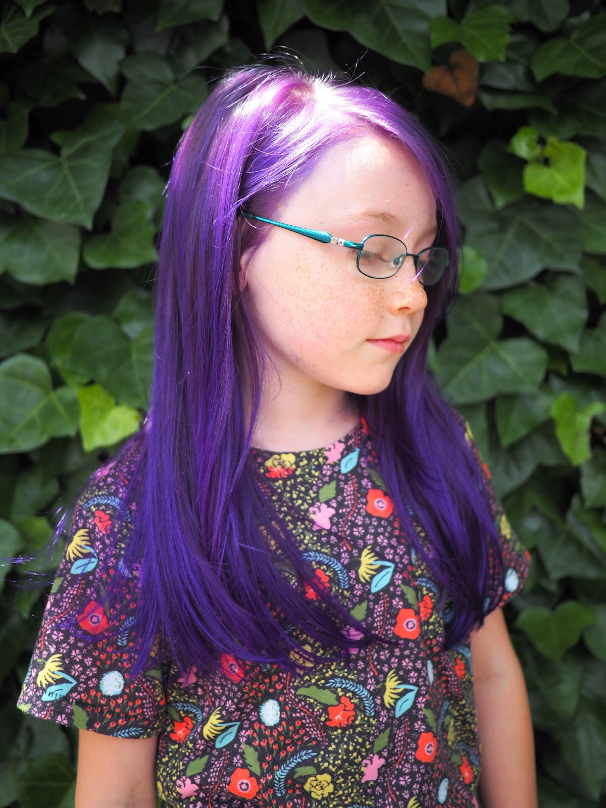 Lila Blaue Haare Little Hiccups Purple Hair