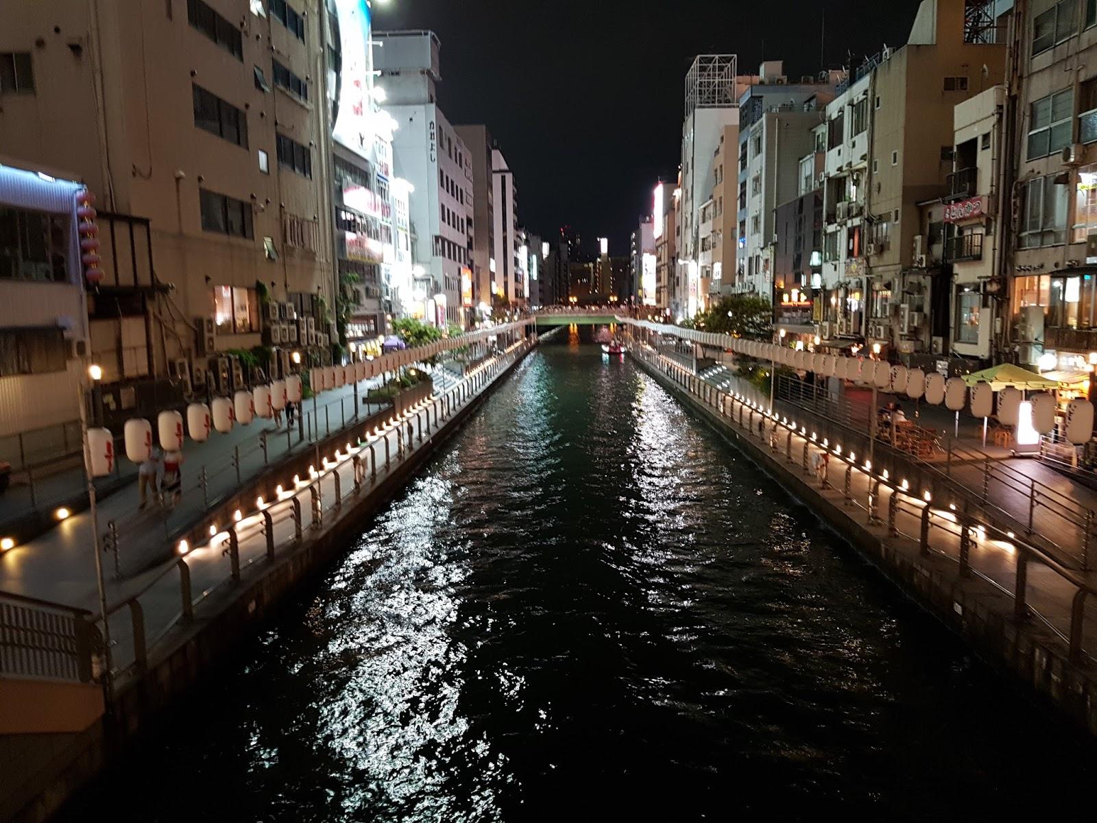 Dotombori Canal Osaka