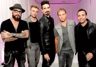 Foto de los Backstreet Boys posando