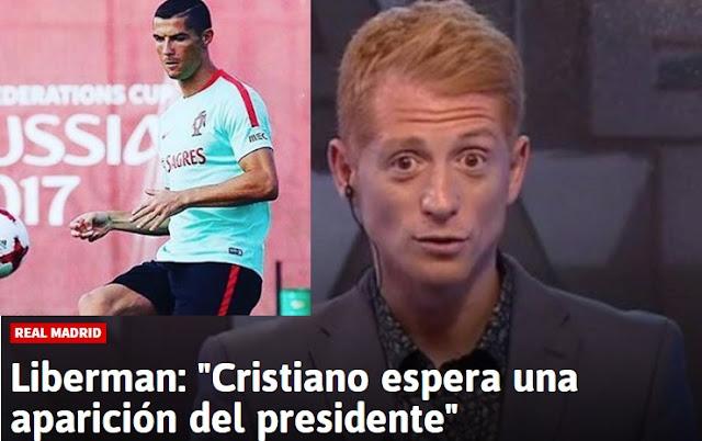 """Martín Liberman: """"Cristiano espera una aparición del presidente"""""""