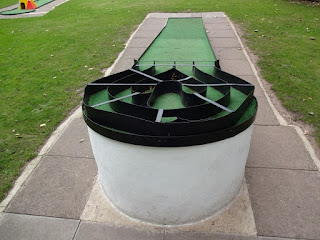 Crazy Golf at Beacon Park in Lichfield