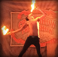 Fire Eater_Fright Fest at Six Flags New England_Halloween New England