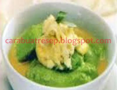 Foto Resep Bubur Sumsum Hijau Pandan atau Daun Suji Saus Durian Sederhana Spesial Asli Enak