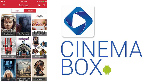 Free Download Cinema Box App for PC, Mac Android and iOS devices
