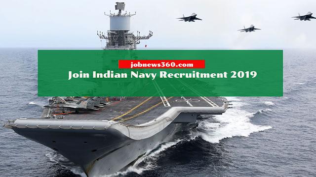 Indian Navy Recruitment 2019 - 400+ Vacancies for Sailors