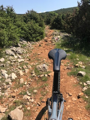 single trail mountainbike tour obzova krk