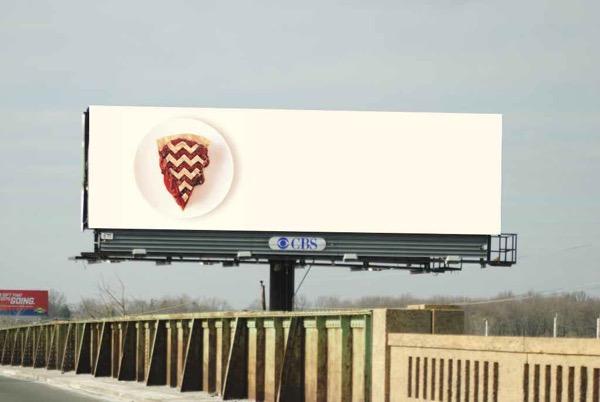 valla publicitaria promocion twin peaks 2017
