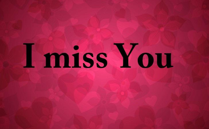 "Frases Curtas De Amor: Belas Frases De Amor: ""I Miss You"""