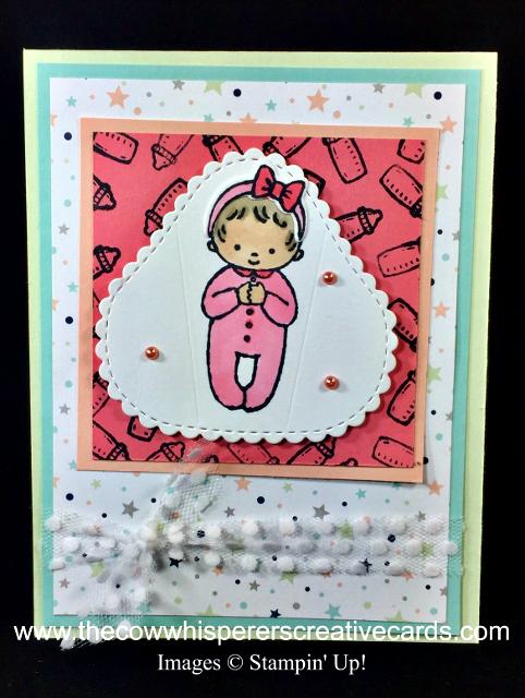 Card, Baby, Sweet Baby, Twinkle Twinkle Designer Series Paper,