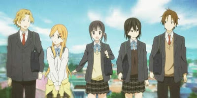 animes-romanticos-Kokoro-Connect
