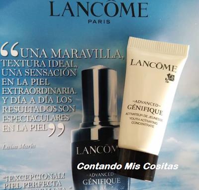 Muestras Gratis Cosmeticos Abril 2018 lancome