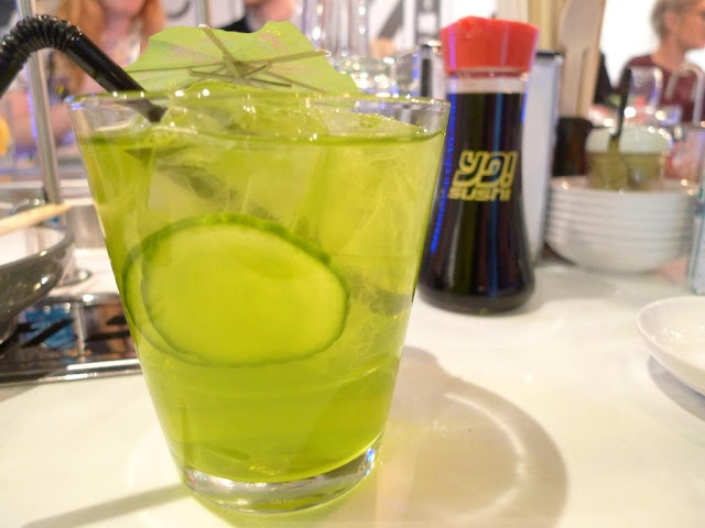 midori green tea cocktail