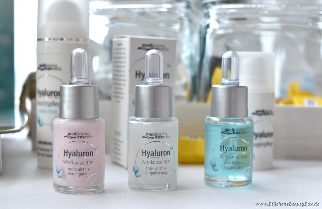 Beautypress Bloggerevent Juli 2017 - medipharma cosmetics Hyaluron Wirkkonzentrat