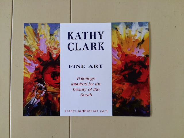 Kathy Clark at the 2015 Piccolo Spoleto Festival Art Exhibition | The Lowcountry Lady