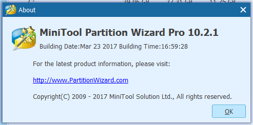 MiniTool Partition Wizard 10.2 PRO Crack