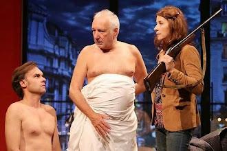 Théâtre : Deux hommes tout nus de Sébastien Thiéry au Théâtre de la Madeleine - Avec François Berléand et Isabelle Gélinas