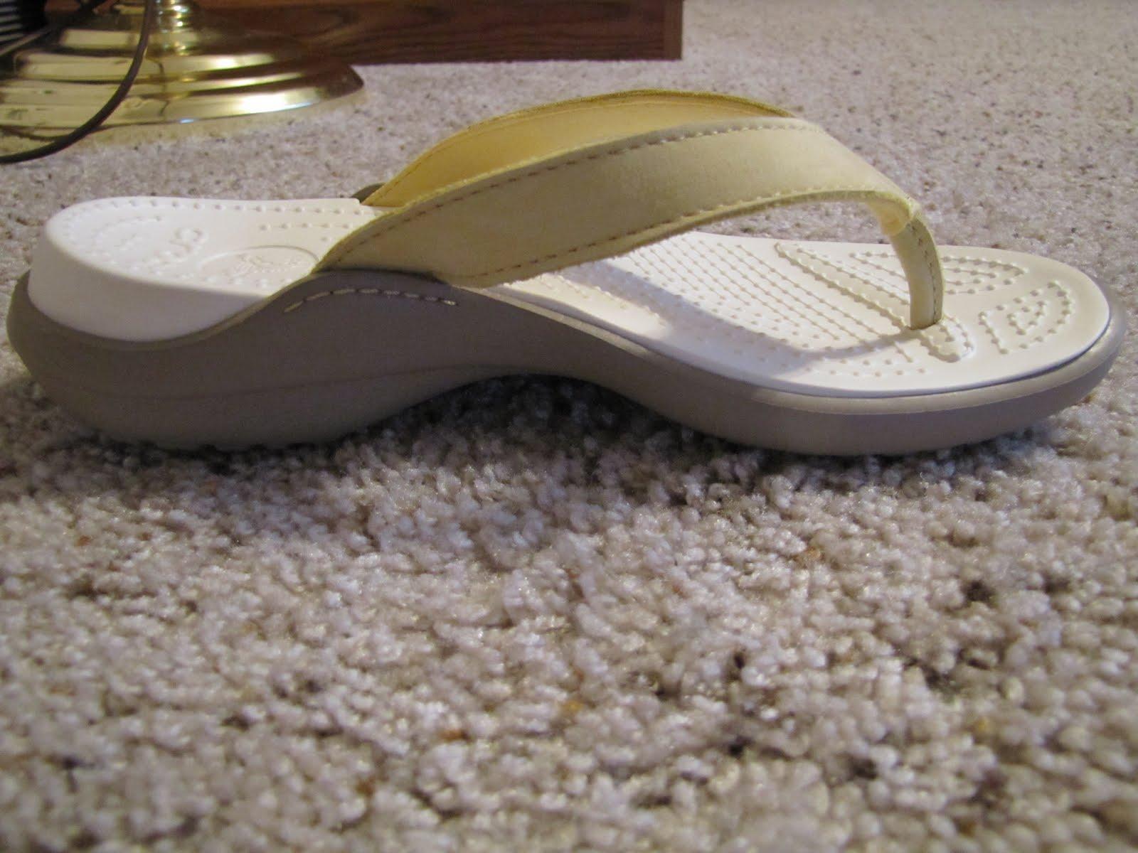 4cfceb2cb101 Celebrating Mom  Crocs Capri IV Flip Flops Review