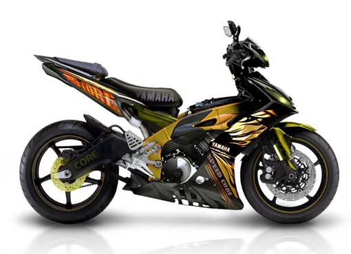 HONDAYES: MODIFIKASI YAMAHA JUPITER MX