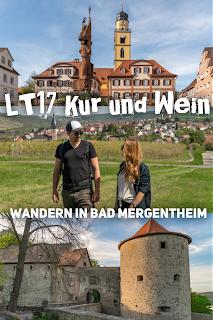 LT 17 Kur und Wein  Wandern in Bad Mergentheim  Liebliches Taubertal Weinlehrpfad Markelsheim  Wanderung um Bad Mergentheim 22