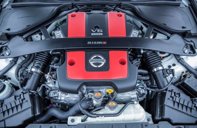 2017 Nissan 370Z Engine