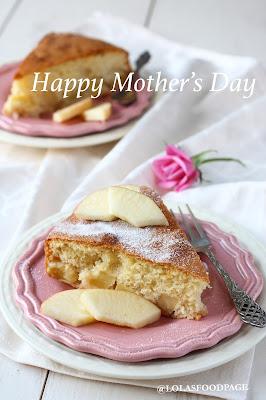 äitienpäiväkakku resepti, omenakakku resepti, omenakeikauskakku, kakku reseptit