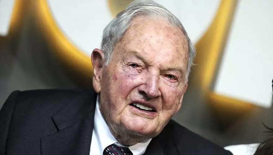 Πέθανε ο δισεκατομμυριούχος David Rockefeller