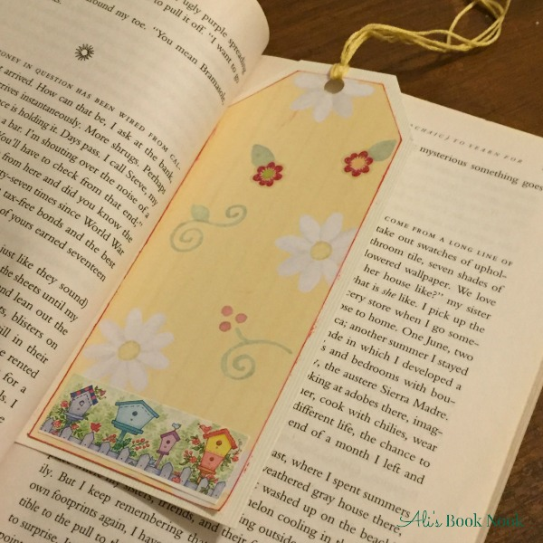 make quick easy bookmarks craft scrapbook paper finished