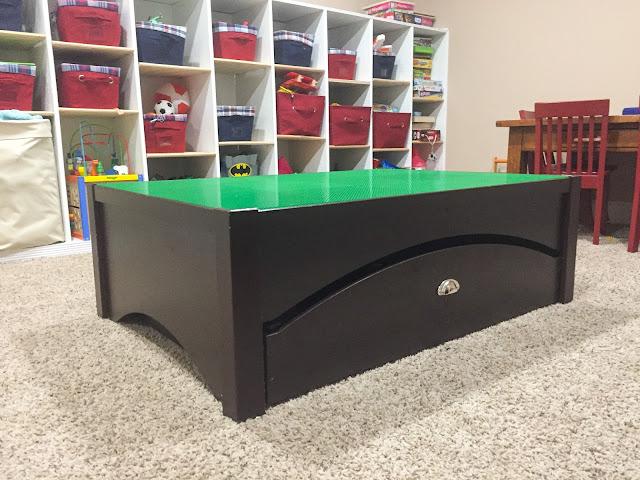 Magnolia Mamas : Train Table to Lego Table