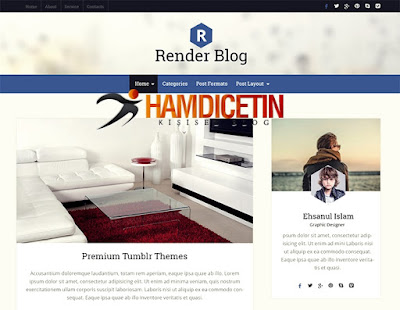 RenderBlog Wordpress Theme