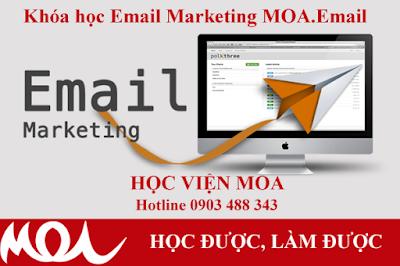 Khóa học Email Marketing tại MOA