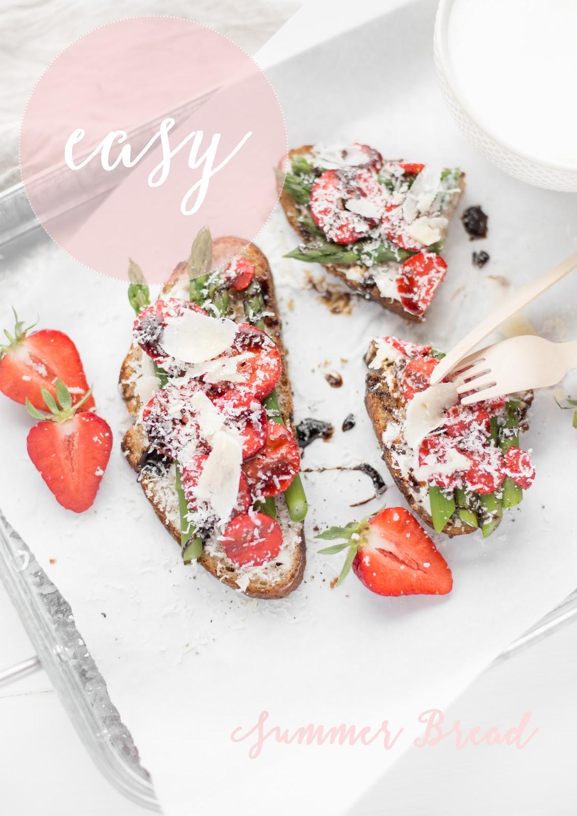 Summerbread mit Erdbeeren