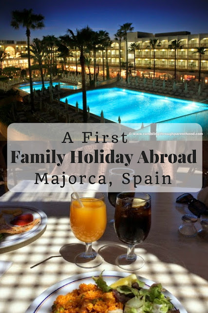 First Family Holiday Abroad, Majorca, Spain