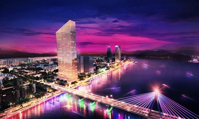 Phối cảnh chung cư Marriott Đà Nẵng