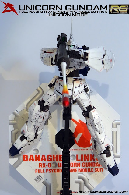 RG 1/144 Unicorn Gundam RX-0 Realgrade no paint