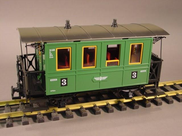 Lgb Trains Amp G Scale Lgb Trains 3014 Green 3 3 Class Coach
