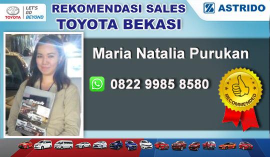 Rekomendasi Sales Toyota Jatimakmur Bekasi
