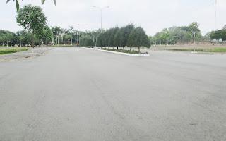 đường hoàn thiện trong khu đô thị mới bình nguyên
