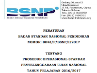 Download POS UN Untuk SMP/MTS,SMA/SMK/MA Terbaru 2017