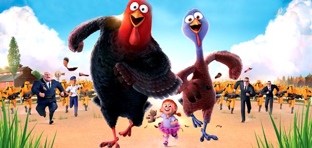 Owen Wilson, Woody Harrelson şi Amy Poehle în animaţia Free Birds