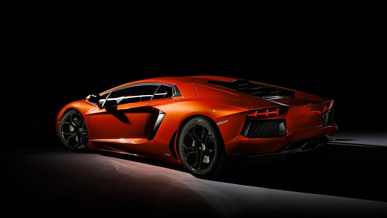 Luxury Lamborghini Cars: Lamborghini Aventador Wallpaper Hd