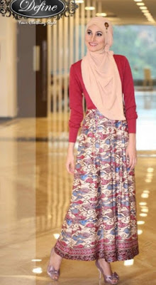 Jenis Gaun Pesta Bahan Batik