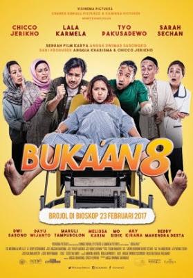 Download Film Bukaan 8 Terbaru 2017