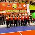 Disaksikan Ribuan Penonton, Tim Putra Karang Talun, Juarai Bola Voli Kapolres Cup  2019.