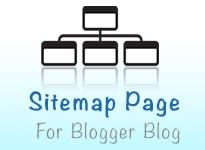 Blogger Blog Sitemap