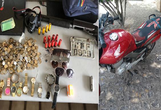 9º BPM recupera três motocicletas roubadas em Delmiro Gouveia e Olho D'água do Casado