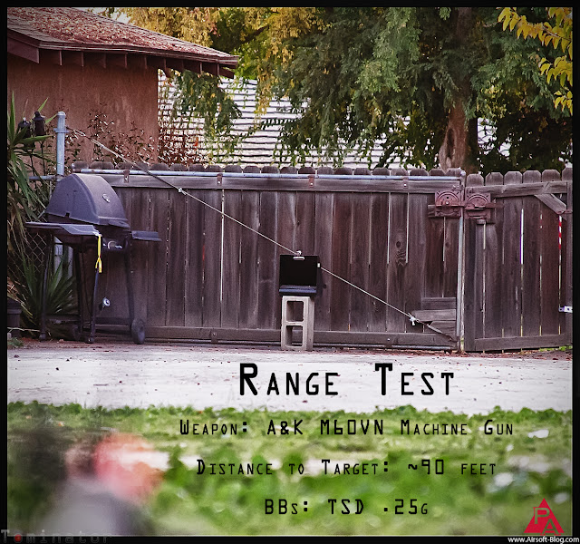 A&K M60VN Review, Range Test, Performance Review, Performance Test, Accuracy Test, Chrono Test, Madbull Airsoft BBs, TSD Airsoft BBs, Echo1 Airsoft BBs, Airsoft Gun Reviews, Full Metal Jacket, Pyramyd Airsoft Blog, Tom Harris Media, Tominator,
