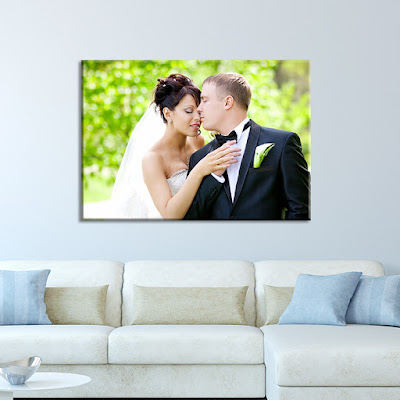 Wedding Canvas Photo